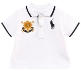 Ralph Lauren White Big Pony and Crest Polo