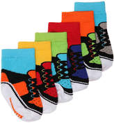 Trumpette Boys Popstars Infant Ankle Socks - 6 Pack -Multicolor