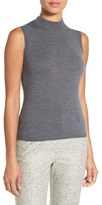 BOSS Women's 'Fabrili' Sleeveless Mock Neck Merino Wool Sweater