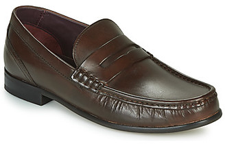 Base London CASSIO men's Loafers / Casual Shoes in Brown