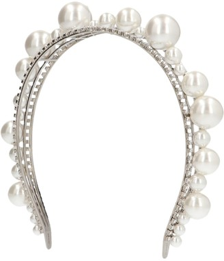 Givenchy Pearl Embellished Headband
