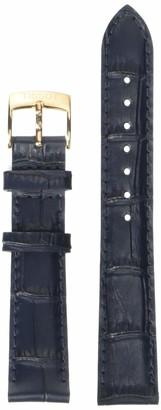 Tissot Leather Calfskin Blue Watch Strap 16mm Width (Model: T600042315)