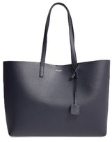 Saint Laurent 'Shopping' Leather Tote - Blue