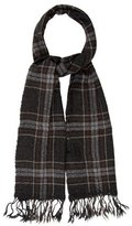 Etoile Isabel Marant Plaid Wool Scarf w/ Tags