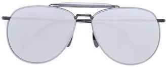 Thom Browne Mirrored Aviator Sunglasses