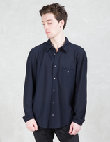 Opening Ceremony Spot Stretch Pique Dolman L/S Shirt