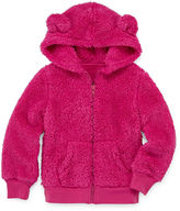 Arizona Long-Sleeve Teddy Bear Hoodie - Preschool Girls 4-6x