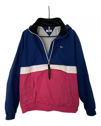 Tommy Jeans Pink Polyester Leather jackets