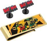 Cufflinks Inc. Men's Vintage Batman Comic Cufflinks/Money Clip Gift Set