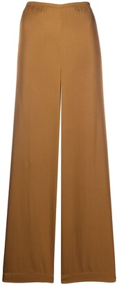 Vince High-Waisted Wide Leg Trousers