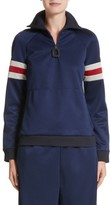 J.W.Anderson Women's Athletic Half Zip Pullover