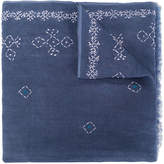 Altea embroidered detail scarf