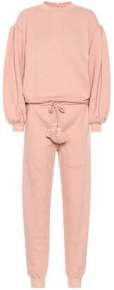 Ulla Johnson Damara cotton fleece jumpsuit