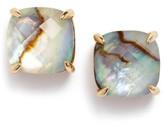 Kate Spade Women's Mini Small Square Semiprecious Stone Stud Earrings
