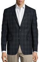 Black Brown 1826 Plaid Woolen Jacket