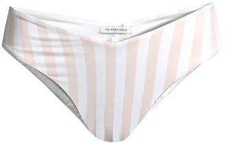 WeWoreWhat Delilah Striped Bikini Bottom