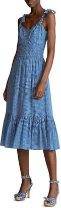 Polo Ralph Lauren Star Print Ruffle Cotton Sundress
