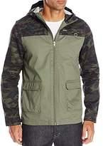 Buffalo David Bitton Men's Jajinst Waxed Cotton Fashion Jacket with Hood
