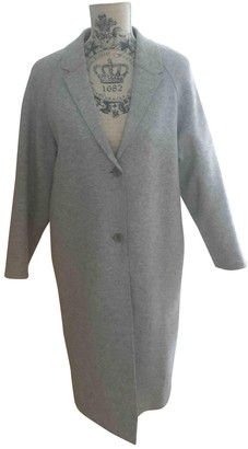 Cos Grey Wool Coat for Women