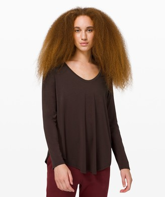 Lululemon Up for Down Time Long Sleeve