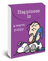 """Graphique - Happiness is a Warm Puppy Purse Notes, 3 x 4"""", Green, 75 note pages"""