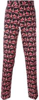 Paul Smith palm tree print trousers