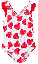 Catimini Baby Girls' Maillot DE Bain Vest,(Manufacturer Sizes: )