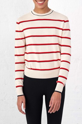 La Ligne Neat Stripe Cotton Sweater