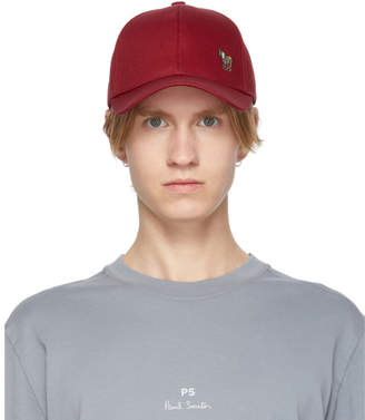 Paul Smith Red Zebra Baseball Cap
