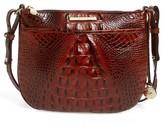Brahmin Melbourne Tara Leather Crossbody Bag - Black