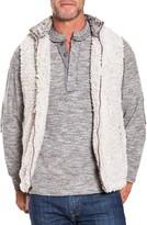 True Grit Men's Frosty Faux Shearling Vest