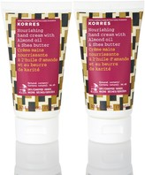 Korres Shea Butter & Almond Hand Cream Duo