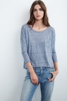 Javeline Linen Knit Pocket Tee