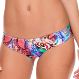 Luli Fama Side Tab Reversible Full Bottom In Multicolor (L509316)