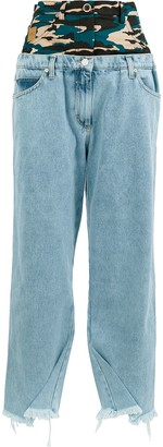 Natasha Zinko frayed hem jeans
