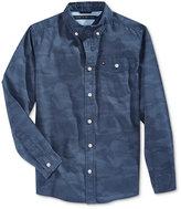 Tommy Hilfiger Little Boys' Long-Sleeve Shirt