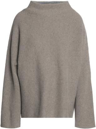 Vince Ribbed Merino Wool And Cashmere-blend Sweater