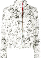 Moncler Gamme Rouge botanical print jacket - women - Polyester/Feather/Duck Feathers - 1