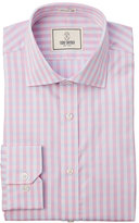 Todd Snyder Pink 2-Ply Gingham Dress Shirt