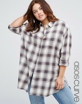 Asos Oversized Shirt In Check