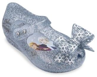 Mini Melissa Disney's Frozen 2 Baby's, Little Girl's & Girl's Ultragirl Snowflake Bow Flats