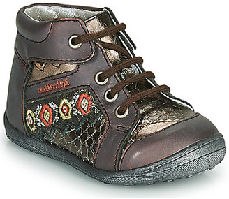 Catimini CABILLAUD girls's Mid Boots in Multicolour