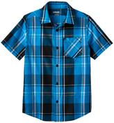 Tony Hawk Boys 8-20 Tony Hawk® Plaid Button-Down Shirt