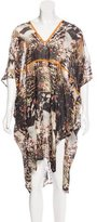 Zero Maria Cornejo Oversize Abstract Print Dress w/ Tags
