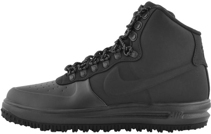 Nike Lunar Force 1 DuckbootTrainers Black