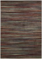 Nourison Expressions XP11 Multicolored Rectangle Rug, 5.3'x7.5'