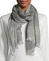 Eileen Fisher Cozy Maltinto Textured Scarf