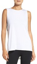 Zella Women's Side Slits Muscle Tank