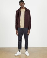 Thumbnail for your product : Ted Baker Suede Zip Through Jacket