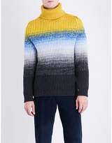 Richard James Degrade Turtleneck Wool Jumper